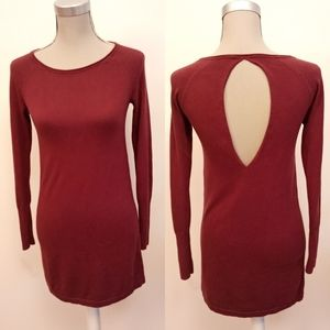 Aritzia Wilfred silk blend sweater dress size XXS